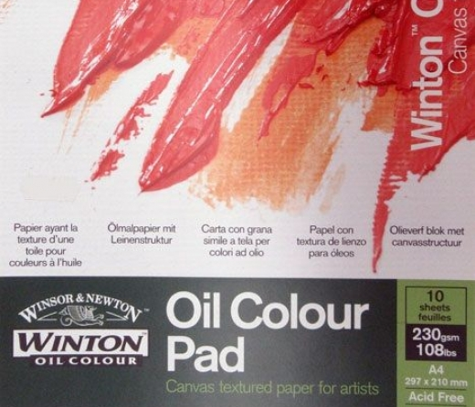 Winton Oil Color Pad
