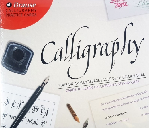 Practice cards calligraphy