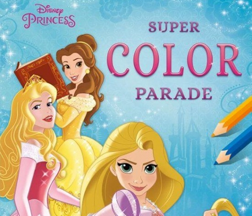 Disney Princess super color