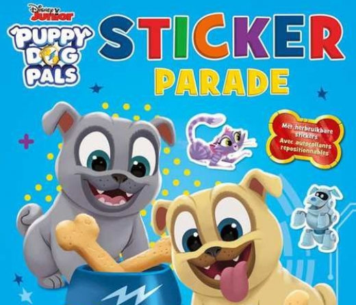 Puppy Dog Pals sticker parade