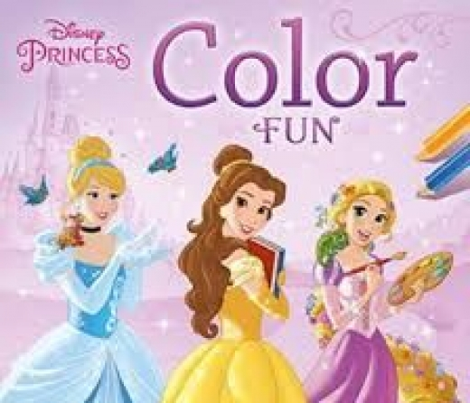 Disney Princess color fun