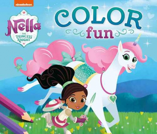 Nella The Princess Knight Color Fun