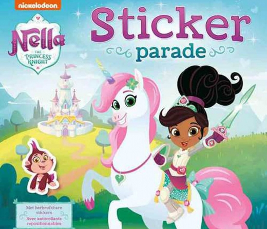 Nella the Princess Knight Sticker parade