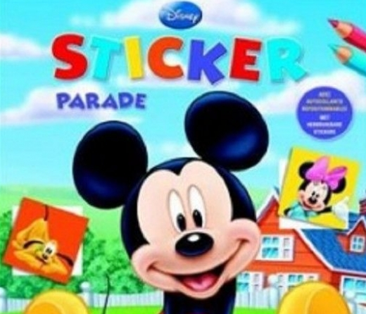 Disney sticker parade
