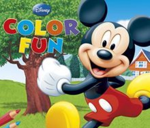 Mickey color fun